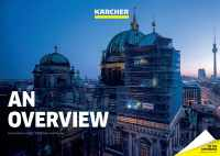 Karcher 2020 sustainability report cover